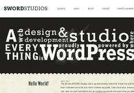 A great web design by SWORD Studios, Providence, RI: