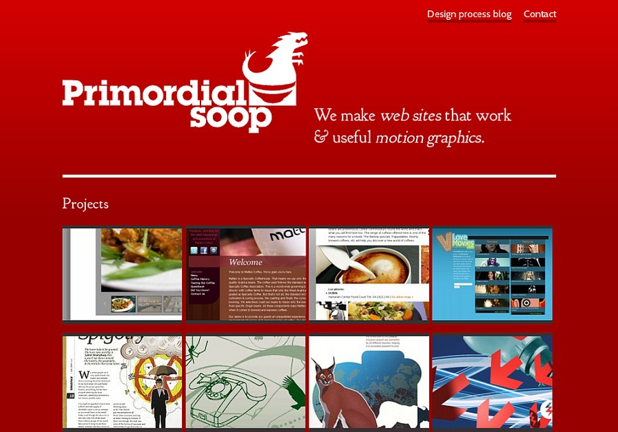 A great web design by Primordial Soop, Dubai, United Arab Emirates: