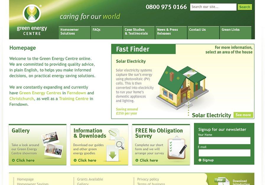 A great web design by RT Brand Communications, Dorset, United Kingdom:
