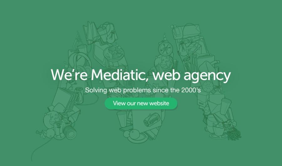 A great web design by Mediatic, Cluj, Romania: