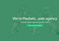 A great web design by Mediatic, Cluj, Romania:
