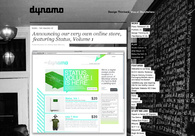 A great web design by Dynamo, Montreal, Canada:
