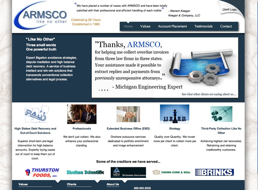 A great web design by Ready Web Technology, Philadelphia, PA: