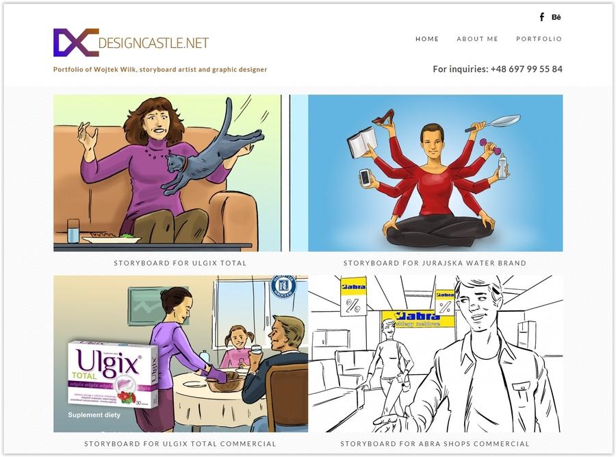 A great web design by designcastle.net, Katowice, Poland: Responsive Website, Portfolio , Marketing , Wordpress