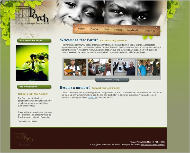 A great web design by Devise Innovations - Houston Web Design & Development Firm, Houston, TX: