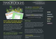 A great web design by Traxor Designs, Birmingham, United Kingdom:
