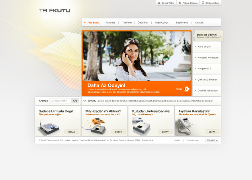 A great web design by Mazot Medya, Istanbul, Turkey: