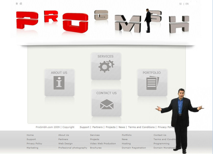 A great web design by PROGMBH.com, Miami, FL: