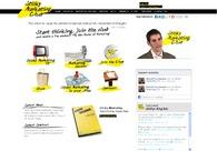 A great web design by GenieSolutions, London, Israel: