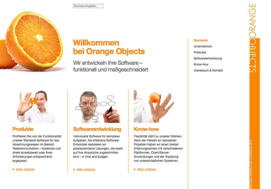 A great web design by praegnanz.de, Wuerzburg, Germany: