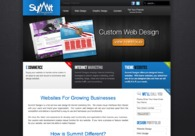 A great web design by SummitDesigns.tv, Dallas, TX: