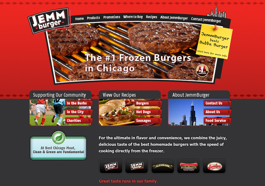 A great web design by Capacitr, Chicago, IL: