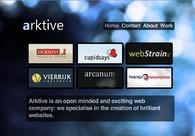 A great web design by Arktive, Glasgow, United Kingdom:
