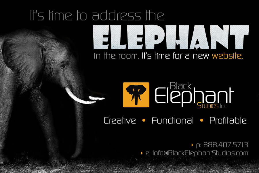 A great web design by Black Elephant Studios, Inc., Minneapolis, MN: