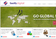 A great web design by Exactlly Digital Solutions Pvt. Ltd., Kolkata, India: