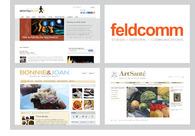 A great web design by Feldcomm, Chicago, IL: