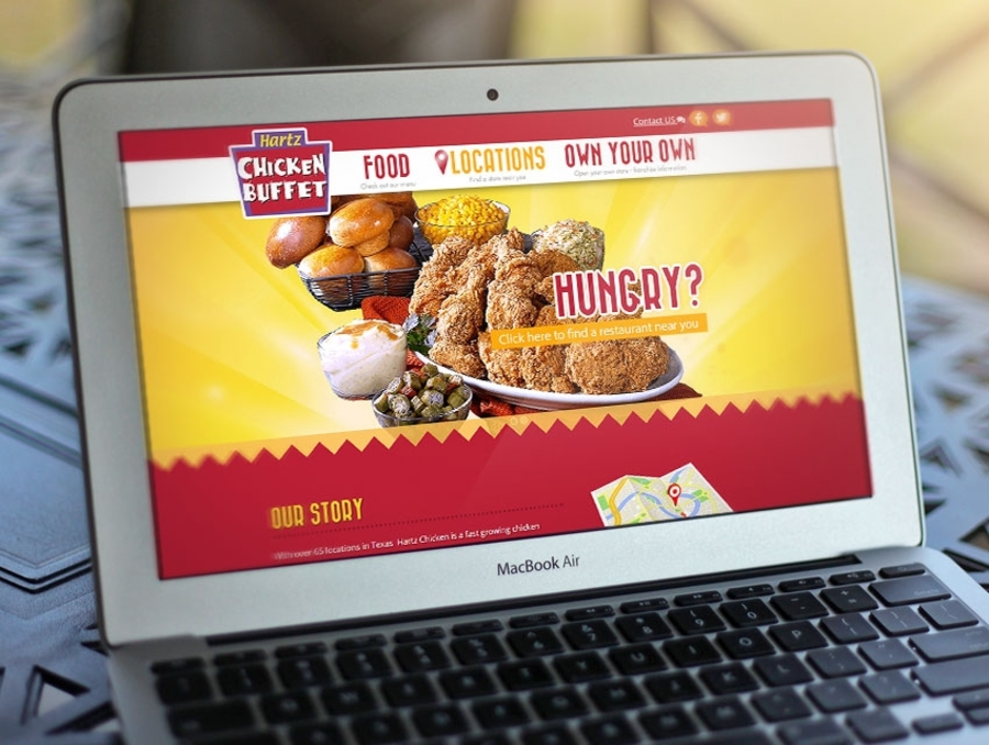 A great web design by FDI Creative Services, Houston, TX: Responsive Website, Marketing Website , Food & Beverage , Joomla