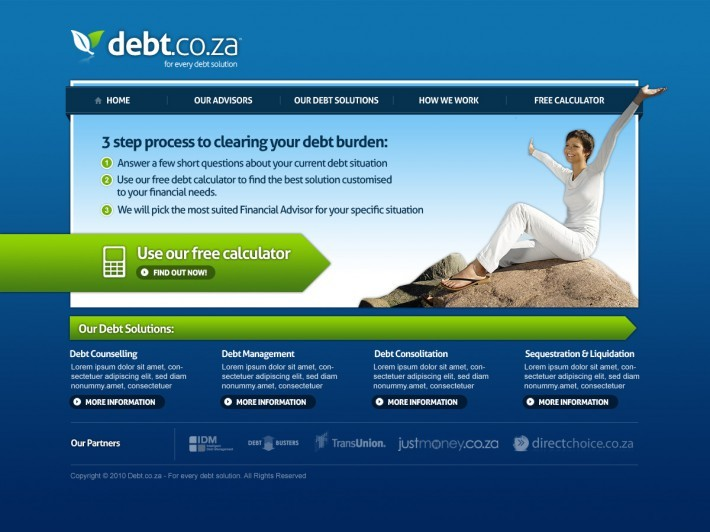 A great web design by Calyx, Cape Town, South Africa:
