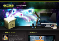 A great web design by Noxion, Curitiba, Brazil: