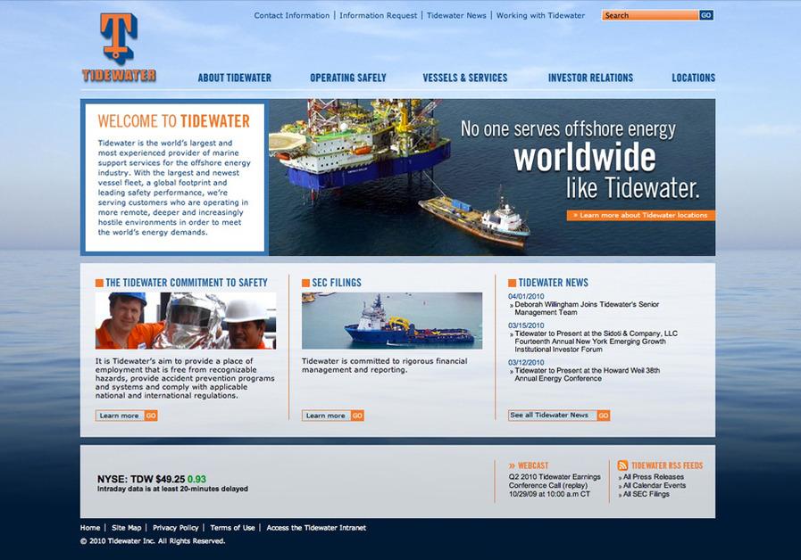 A great web design by Xenn, Houston, TX: