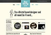 A great web design by Ben Darby, Bristol, United Kingdom: