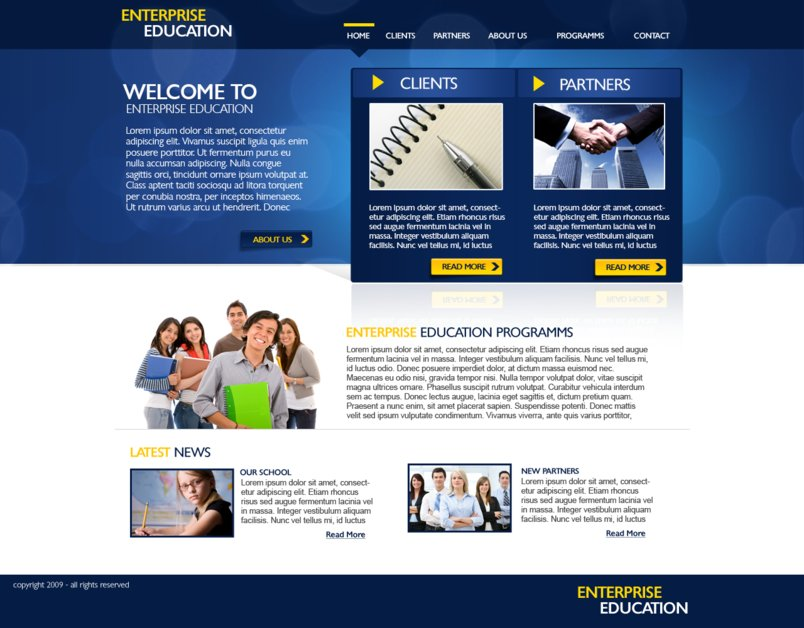 A great web design by Atlas Computer Systems, London, United Kingdom: