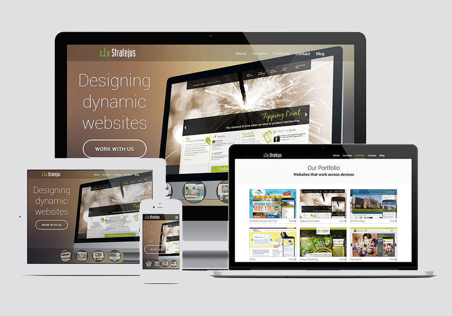 A great web design by Stratejus Inc., Rochester, NY: Responsive Website, Marketing Website , Internet , Wordpress