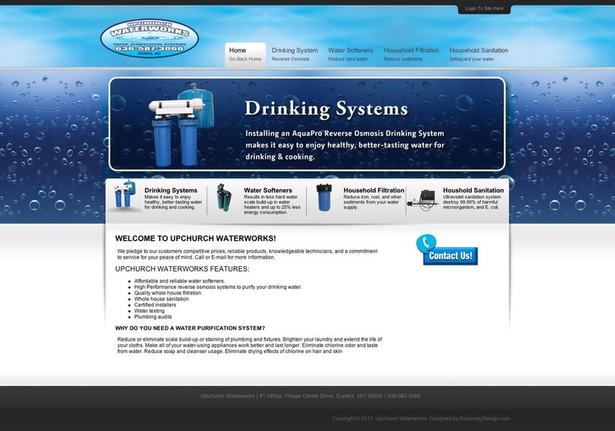 A great web design by Powers by Design, LLC, Chicago, IL: