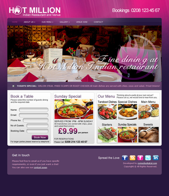 A great web design by Oxmedia Digital Web Design, London, United Kingdom: