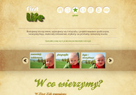 A great web design by first life, all Poland, Poland: