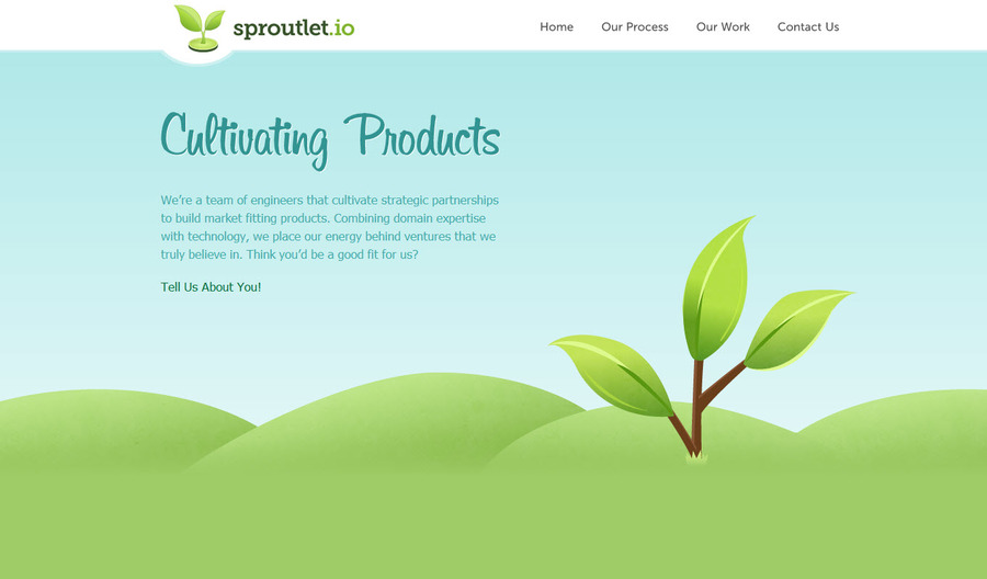 A great web design by Sproutlet, New York, NY: