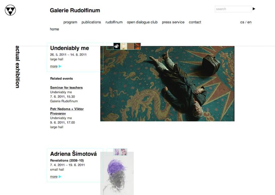A great web design by Sinfin, Prague, Czech Republic: