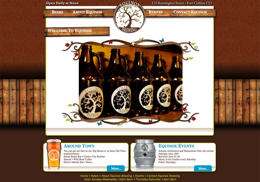 A great web design by Clay Pot Creative, Fort Collins, CO: