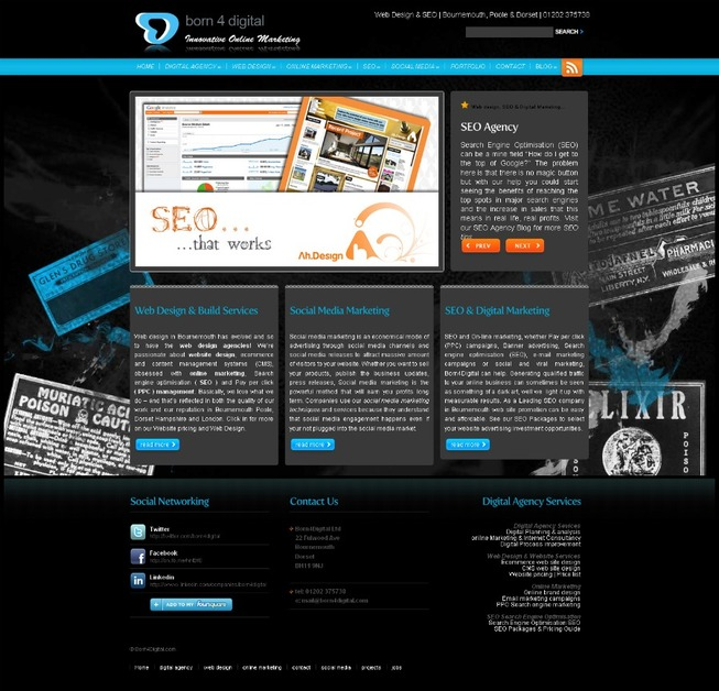 A great web design by Born4Digital Ltd, Bournemouth, United Kingdom: