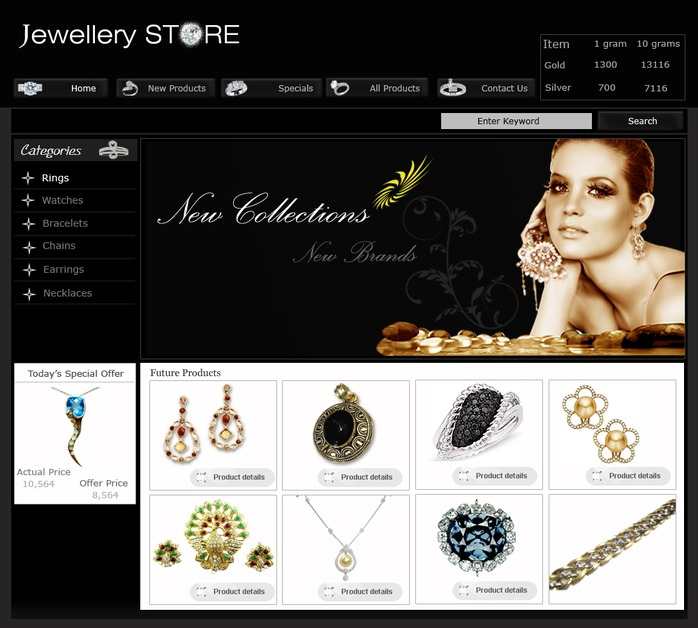 A great web design by Kreative Pool, Mysore, India: