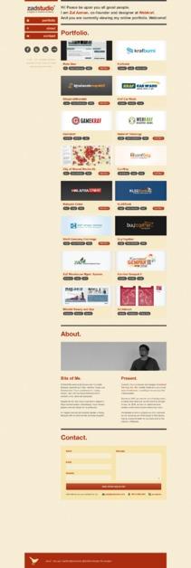 A great web design by Zul Azman, Kuala Lumpur, Malaysia: