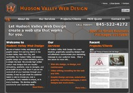 A great web design by Hudson Valley Web Design, New York, NY:
