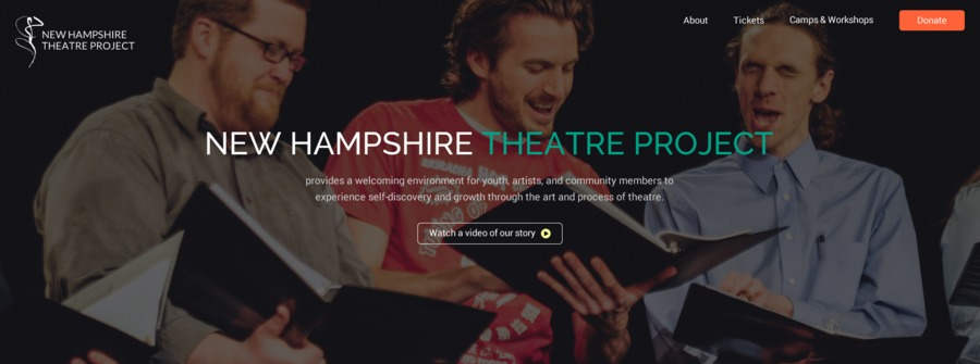 A great web design by Brick River, Boston, MA: Website, Marketing Website , Non Profit , Other