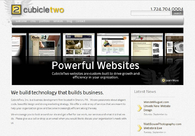 A great web design by CubicleTwo, Inc., Pittsburgh, PA: