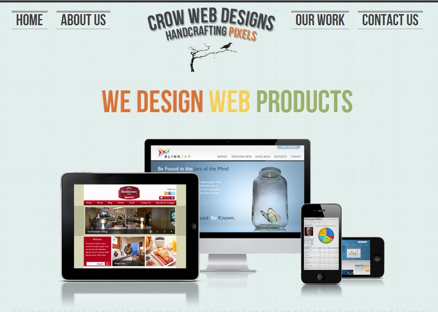 A great web design by Crow Web Designs, Los Angeles, CA: