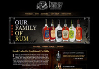 A great web design by Peacock Production Studios, Tampa, FL: