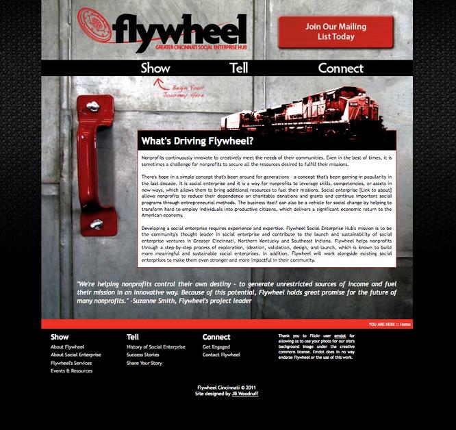 A great web design by JB Woodruff Design, LLC, Cincinnati, OH: