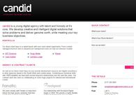 A great web design by Candid, Bristol, United Kingdom: