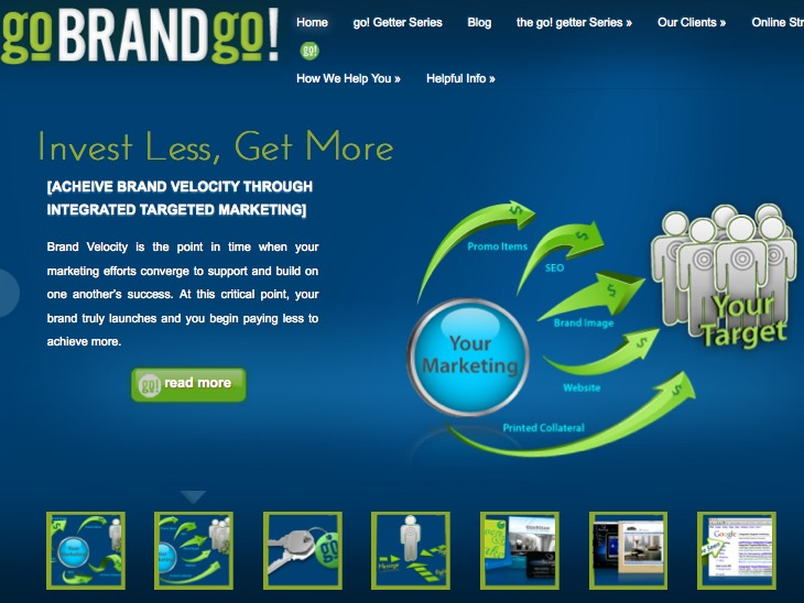 A great web design by goBRANDgo!, St Louis, MO: