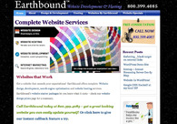 A great web design by Earthbound, Grand Junction, CO: