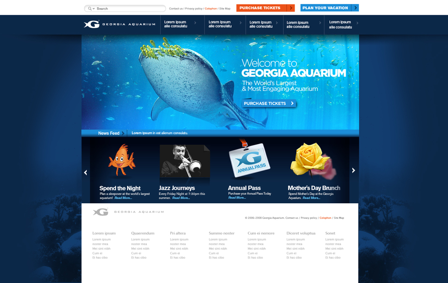 A great web design by McDade Design, Atlanta, GA: