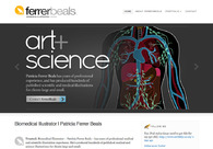 A great web design by Ferrer+Beals, Ann Arbor, MI: