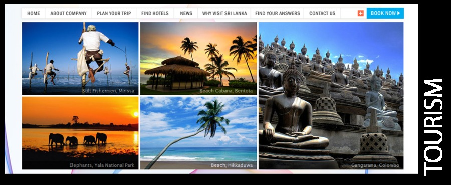 A great web design by Ben Worldwide, Colombo, Sri Lanka: