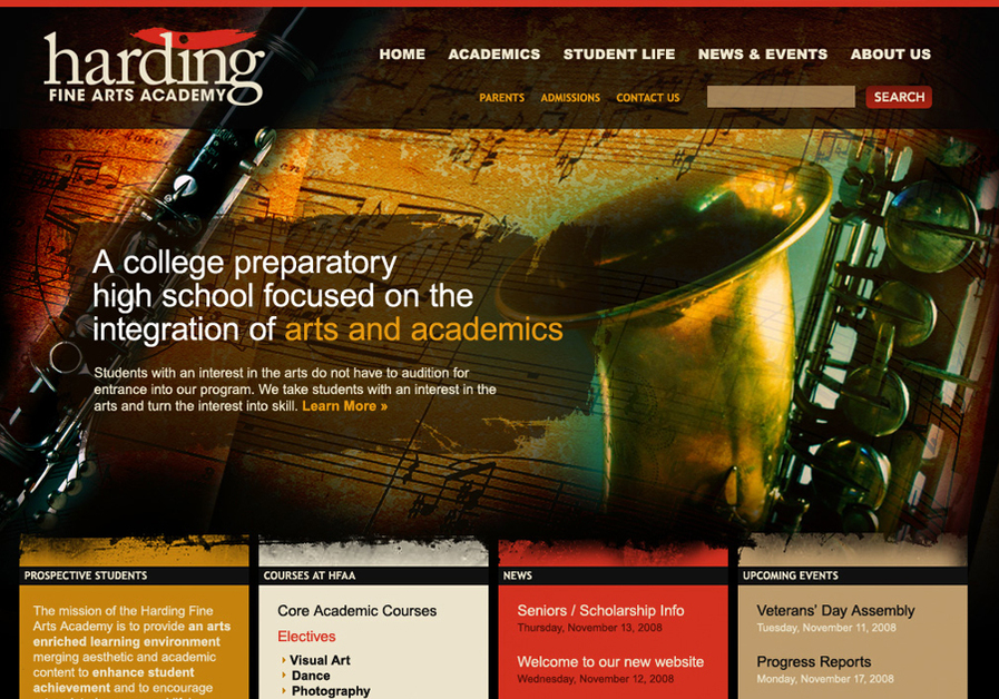 A great web design by Element Fusion, Oklahoma City, OK: