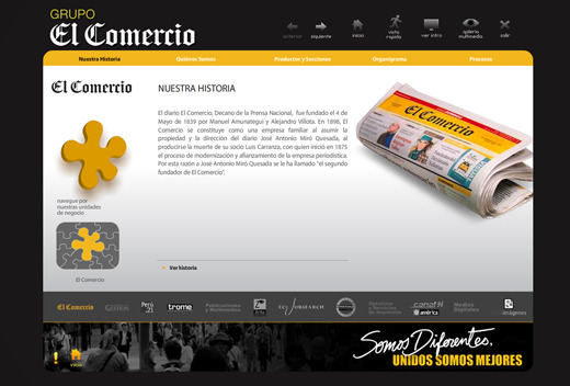 A great web design by 86 interactive, Magdalena Lima, Peru: